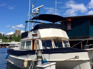 Cruise boat, Rainbird